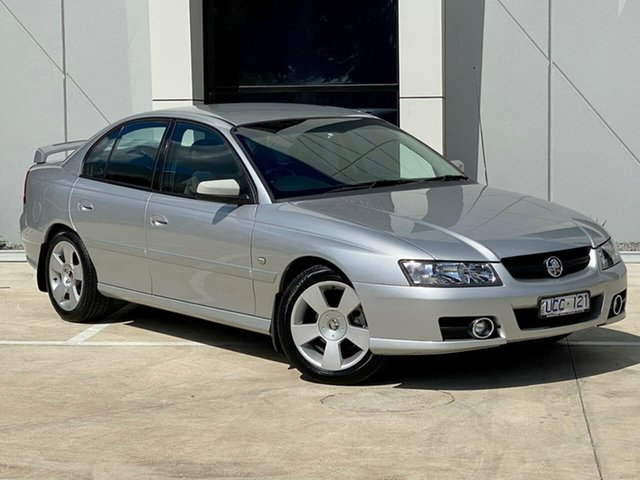 Used Holden Commodore VZ MY06 SVZ Templestowe, 2006 Holden Commodore VZ MY06 SVZ Silver 4 Speed Automatic Sedan