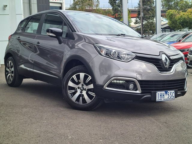 Used Renault Captur Port Melbourne, 2016 Renault Captur Expression Grey 6SPD DSG TRANS Sedan