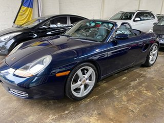 1999 Porsche Boxster 986 MY00 Blue 5 Speed Sports Automatic Convertible.