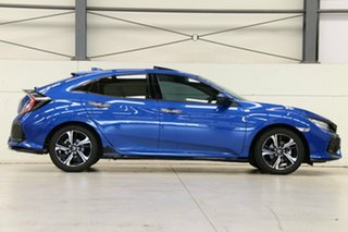 2018 Honda Civic 10th Gen MY18 RS Brilliant Sporty Blue 1 Speed Constant Variable Hatchback