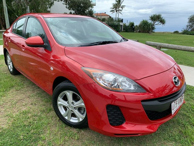 Used Mazda 3 BL10F2 Neo Activematic Tugun, 2012 Mazda 3 BL10F2 Neo Activematic Red 5 Speed Sports Automatic Sedan