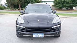 2011 Porsche Cayenne 92A MY12 S Tiptronic Black 8 Speed Sports Automatic Wagon.