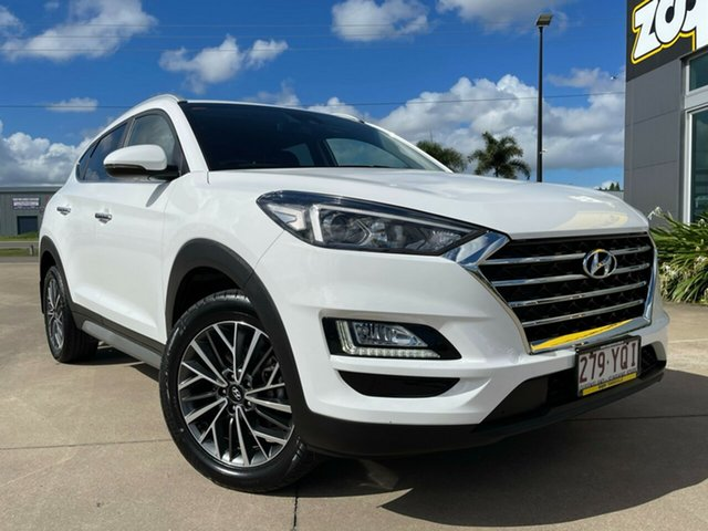 Used Hyundai Tucson TL2 MY18 Elite 2WD Townsville, 2018 Hyundai Tucson TL2 MY18 Elite 2WD White/311218 6 Speed Sports Automatic Wagon