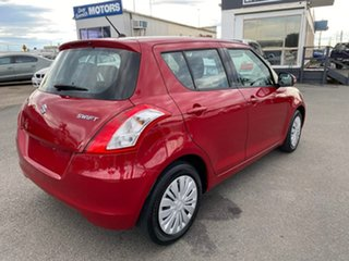 2014 Suzuki Swift FZ GL Navigator Red Automatic Hatchback