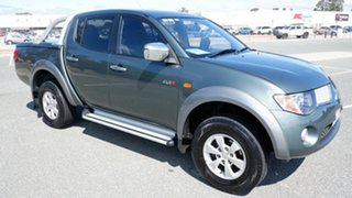 2008 Mitsubishi Triton ML MY09 GLX-R Double Cab Grey 4 Speed Automatic Utility