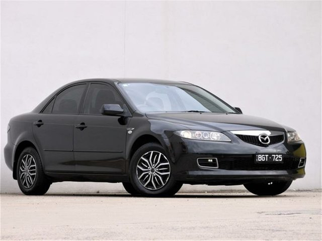 Used Mazda 6 GG Limited Cheltenham, 2005 Mazda 6 GG Limited Black 5 Speed Manual Sedan