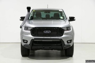 2020 Ford Ranger PX MkIII MY20.25 FX4 3.2 (4x4) Silver 6 Speed Manual Double Cab Pick Up.