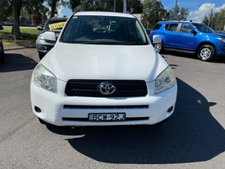 2007 Toyota RAV4 ACA33R CV White 4 Speed Automatic Wagon