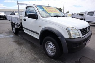 2004 Holden Rodeo RA DX 4x2 White 5 Speed Manual Cab Chassis.