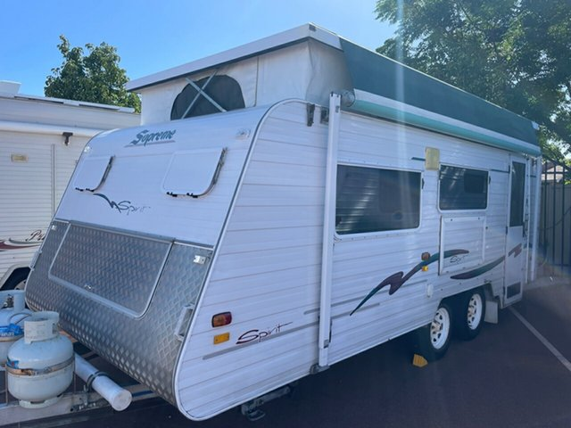 Used Supreme Spirit St James, 2004 Supreme Spirit Caravan