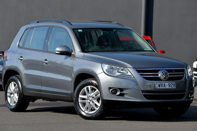 Used Volkswagen Tiguan 5N MY09 103TDI 4MOTION Moorabbin, 2009 Volkswagen Tiguan 5N MY09 103TDI 4MOTION Grey 6 Speed Sports Automatic Wagon