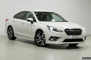 2019 Subaru Liberty MY19 2.5I White Continuous Variable Sedan.