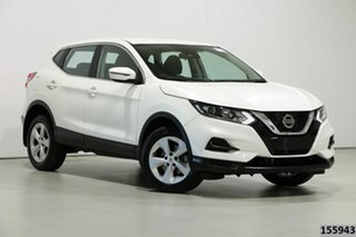 2019 Nissan Qashqai J11 MY18 ST White Continuous Variable Wagon.