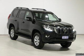 2020 Toyota Landcruiser Prado GDJ150R MY18 GXL (4x4) Black 6 Speed Automatic Wagon