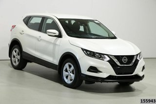 2019 Nissan Qashqai J11 MY18 ST White Continuous Variable Wagon