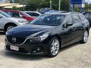 2013 Mazda 6 GJ1031 GT SKYACTIV-Drive Black 6 Speed Sports Automatic Wagon