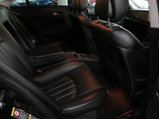 2007 Mercedes-Benz CLS-Class C219 MY08 CLS500 Coupe Black 7 Speed Sports Automatic Sedan
