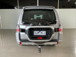 2016 Mitsubishi Pajero NX MY17 GLS Silver, Chrome 5 Speed Sports Automatic Wagon