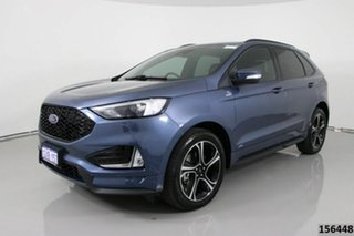 2019 Ford Endura CA MY19 ST-Line (AWD) Blue 8 Speed Automatic Wagon.