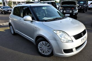 2007 Suzuki Swift RS415 Silver 5 Speed Manual Hatchback.