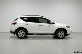 2012 Nissan Murano Z51 MY12 ST White Continuous Variable Wagon