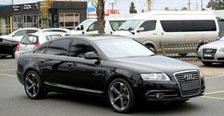 2011 Audi A6 4F MY11 Multitronic Black 1 Speed Constant Variable Sedan
