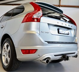 2012 Volvo XC60 DZ MY12 D5 Geartronic AWD R-Design Silver 6 Speed Sports Automatic Wagon