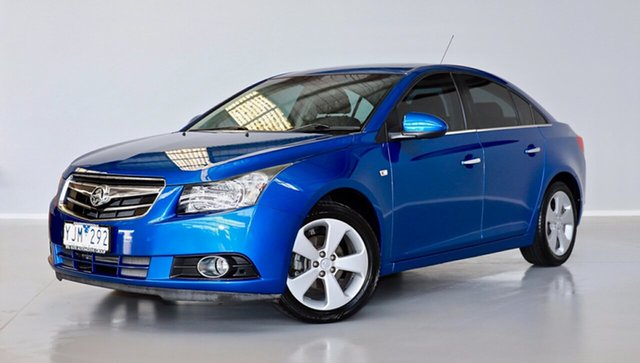 Used Holden Cruze JG CDX Thomastown, 2010 Holden Cruze JG CDX Blue 6 Speed Sports Automatic Sedan