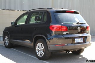 2012 Volkswagen Tiguan 5NC MY12 132 TSI Pacific Black 6 Speed Automatic Wagon