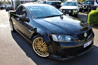 2008 Holden Ute VE SS Black 6 Speed Sports Automatic Utility.