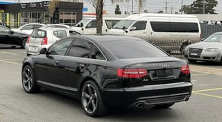 2011 Audi A6 4F MY11 Multitronic Black 1 Speed Constant Variable Sedan