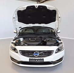 2013 Volvo V60 F Series MY14 T5 PwrShift Luxury White 6 Speed Sports Automatic Dual Clutch Wagon