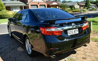 2012 Toyota Aurion GSV50R Touring Black 6 Speed Sports Automatic Sedan