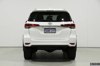2016 Toyota Fortuner GUN156R GXL White 6 Speed Automatic Wagon