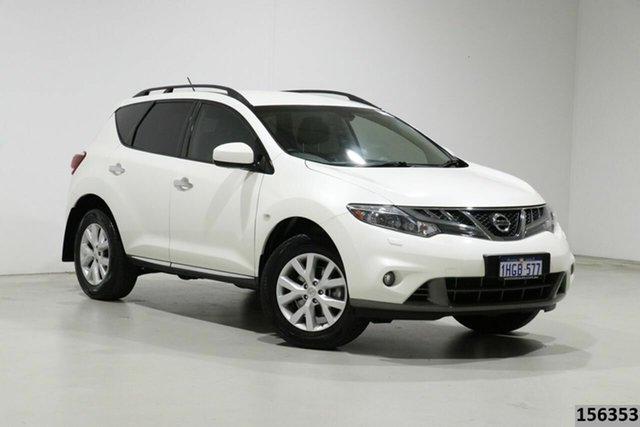Used Nissan Murano Z51 MY12 ST Bentley, 2012 Nissan Murano Z51 MY12 ST White Continuous Variable Wagon