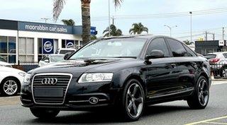 2011 Audi A6 4F MY11 Multitronic Black 1 Speed Constant Variable Sedan.