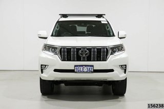 2018 Toyota Landcruiser Prado GDJ150R MY17 Kakadu (4x4) White 6 Speed Automatic Wagon.