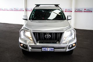 2017 Toyota Landcruiser Prado GDJ150R MY16 GXL (4x4) Silver Pearl 6 Speed Automatic Wagon.