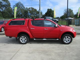 2014 Mitsubishi Triton MN MY15 GLX-R Double Cab Red 5 Speed Manual Utility.