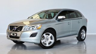 2012 Volvo XC60 DZ MY12 D5 Geartronic AWD R-Design Silver 6 Speed Sports Automatic Wagon.