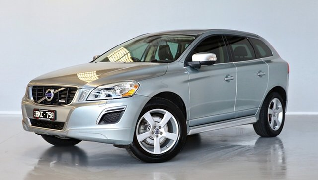 Used Volvo XC60 DZ MY12 D5 Geartronic AWD R-Design Thomastown, 2012 Volvo XC60 DZ MY12 D5 Geartronic AWD R-Design Silver 6 Speed Sports Automatic Wagon