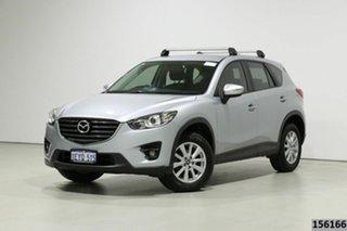 2016 Mazda CX-5 MY15 Maxx Sport (4x2) Silver 6 Speed Automatic Wagon.