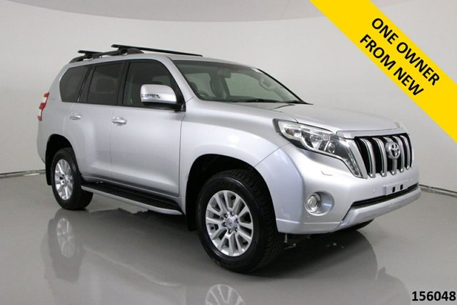 Used Toyota Landcruiser Prado GDJ150R MY16 VX (4x4) Bentley, 2017 Toyota Landcruiser Prado GDJ150R MY16 VX (4x4) Silver 6 Speed Automatic Wagon
