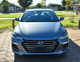 2018 Hyundai Elantra AD MY18 SR DCT Turbo Grey 7 Speed Sports Automatic Dual Clutch Sedan