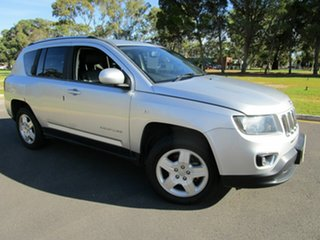 2013 Jeep Compass MK MY14 North (4x2) Silver 6 Speed Automatic Wagon