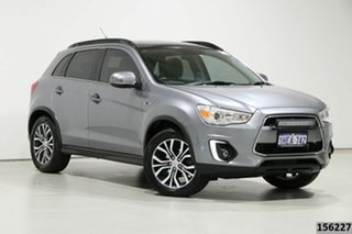 2015 Mitsubishi ASX XB MY15 XLS (4WD) Grey 6 Speed Automatic Wagon