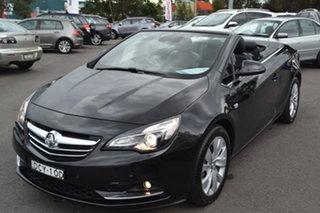 2015 Holden Cascada CJ MY15.5 Black 6 Speed Sports Automatic Convertible.