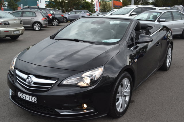 Used Holden Cascada CJ MY15.5 Maitland, 2015 Holden Cascada CJ MY15.5 Black 6 Speed Sports Automatic Convertible