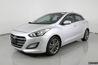 2015 Hyundai i30 GD3 Series 2 Premium 1.6 CRDi Silver 7 Speed Auto Dual Clutch Hatchback