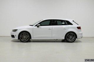 2014 Audi S3 8V MY14 2.0 TFSI Quattro White 6 Speed Direct Shift Hatchback